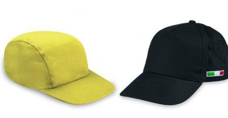 5 cappelli personalizzati per ogni tipo di attività